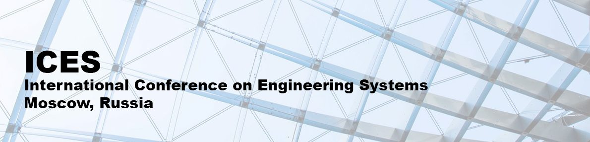 International Conference on Engineering Systems 2021 (ICES 2021)